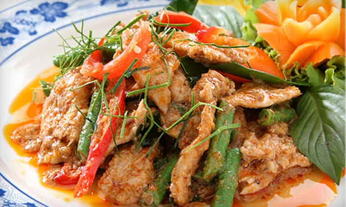 Royal Thai Restaurant - Central Business District: $29.99 for Four-Course Chef's Speciality Dinner for Two at Royal Thai Restaurant ($63.30 Value)