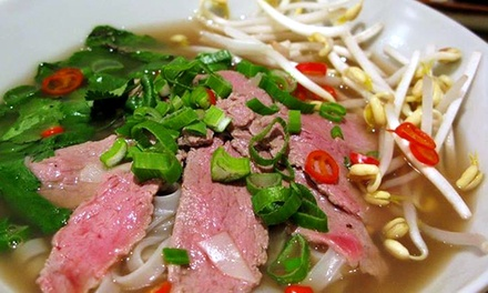 Vietnamese Lunch or Dinner for Two or Four at Pho Aroma (Up to 51% Off)