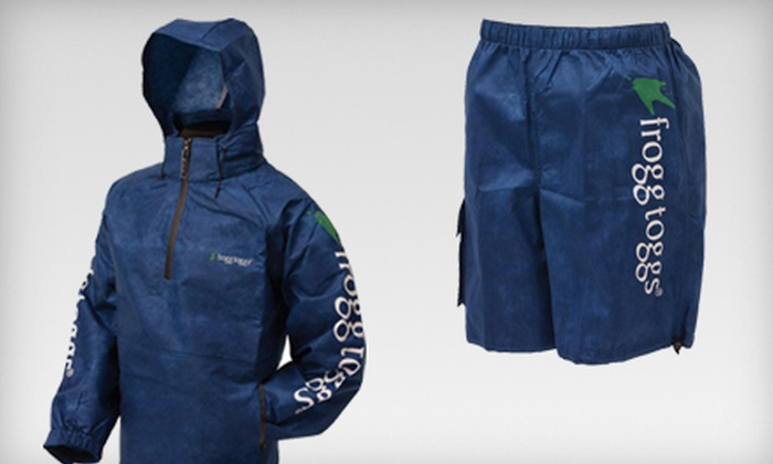 frogg toggs: Breathable Rainwear and Wading Gear from frogg toggs (Half Off). Two Options Available.