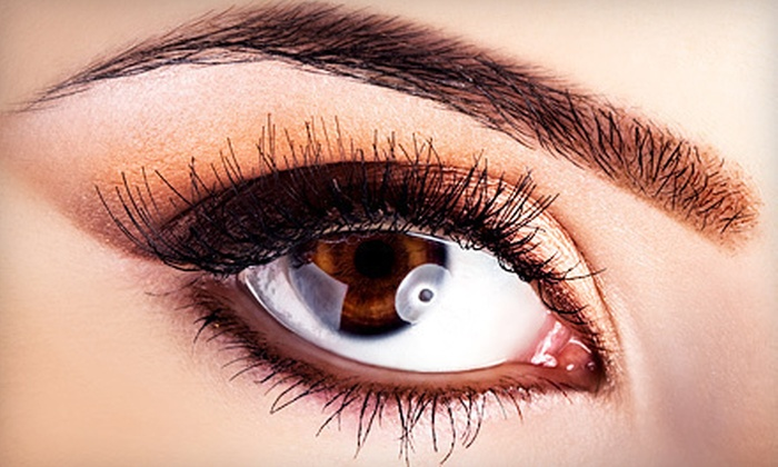 Ecobrow at Evolue - Beverly Hills: Eyebrow Threading with Optional Upper-Lip Threading at Ecobrow at Evolue (Half Off)