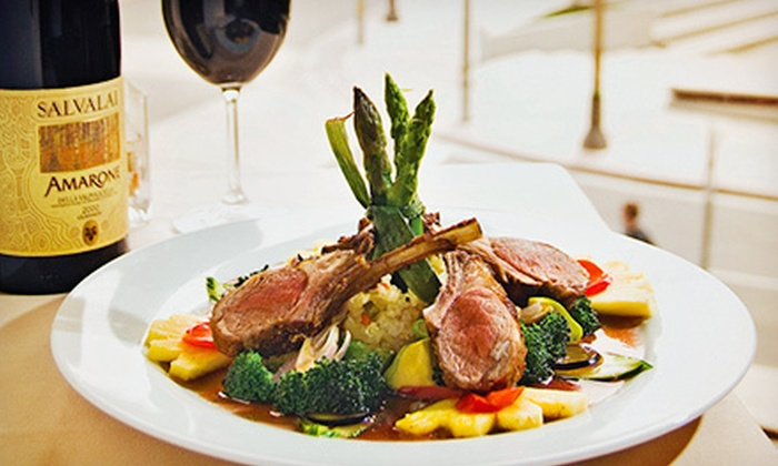 Santé Restaurant - Santé Restaurant: Globally Inspired Cuisine for Dinner or Lunch at Santé Restaurant (Up to 52% Off)