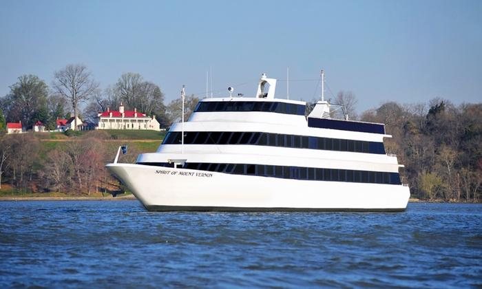 """Spirit of Mt. Vernon - Spirit of Mount Vernon: Round-Trip Sightseeing Cruise Aboard """"Spirit of Mount Vernon"""" (40% Off)"""