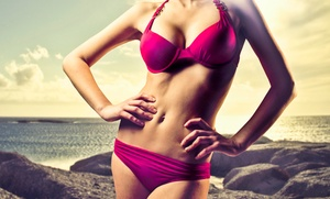 Silhouette Spa and Salon: Five Level-One Tanning Guest Passes or a One-Month VIP Tanning Package at Silhouette Spa (Up to 55% Off)