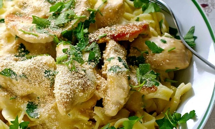 Dinner for Two or Four at Blue Sky Cafe (Up to 50% Off). Four Options Available.