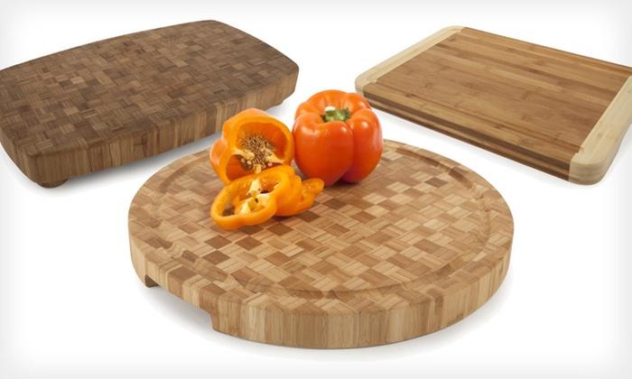Core Bamboo Pro-Chef Chopping Blocks: Core Bamboo Pro-Chef Chopping Blocks (Up to 70% Off). Three Styles Available. Free Shipping.