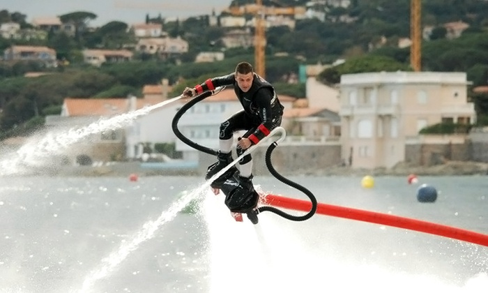 Flyboard Texas - Lewisville: Flyboard Flight Experience for One, Two, or Four from Flyboard Texas (Up to 56% Off)
