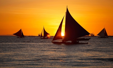 $70 for BYOB Sunset Discover Sail Session for Two at Island Bound Adventures ($120 Value)