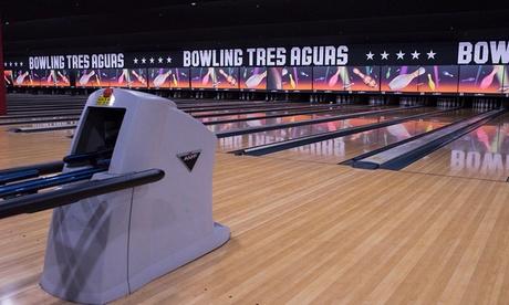 3 partidas de bolos con zapatos y bebida para 1 persona en Bowling Tres Aguas