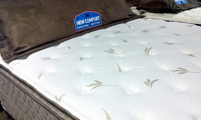 New Comfort Furniture & Mattress - Sturgeon Bay: Twin-, Full-, Queen-, or King-Size Corsicana Eastbrook Mattress at New Comfort Furniture & Mattress (Up to 52% Off)
