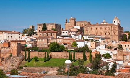 Cáceres: habitación doble twin para 2 personas con desayuno y parking en AHC Hoteles