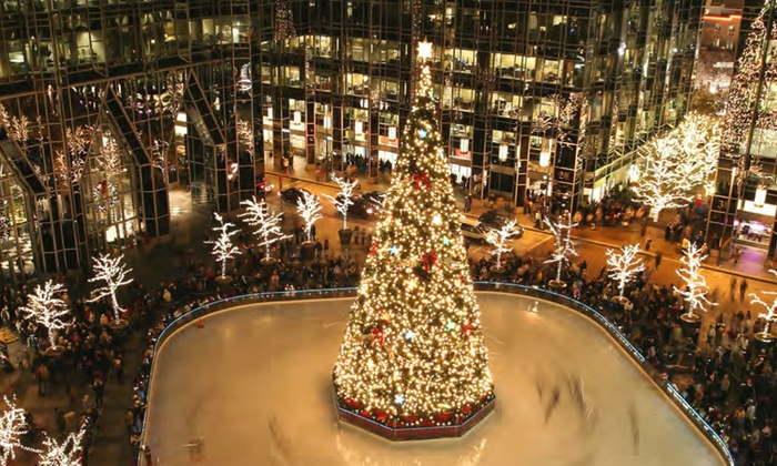 Magic Ice USA - MassMutual Pittsburgh Ice Rink at PPG Place: Ice Skating and Skate Rental for 2 or 4 Adults at MassMutual Pittsburgh Ice Rink at PPG Place by Magic Ice USA (36% Off)