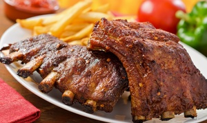 Steak House: Menu Ribs con antipasto, dolce e birra per 2 o 4 persone da Steak House (sconto fino a 77%)