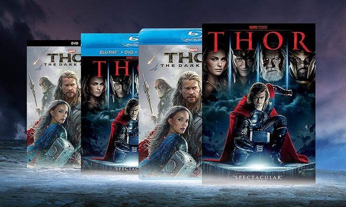 Thor or Thor: The Dark World on Blu-ray or DVD: Thor or Thor: The Dark World on Blu-ray or DVD from $19.99–$22.99. Free Returns.