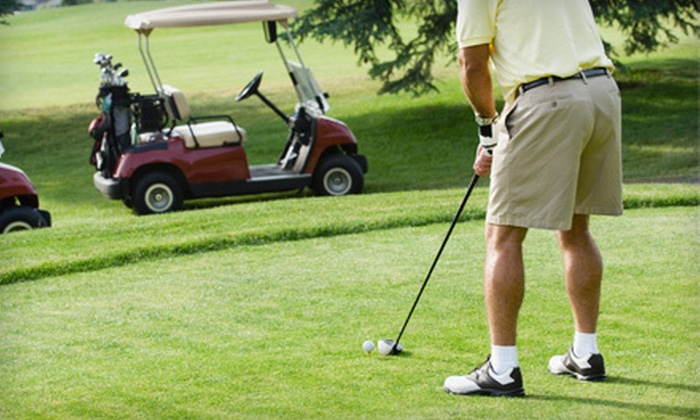 Olde Liberty Golf Club - Youngsville: Round of Golf with Cart Rental for One or Four, or Bronze Family Membership at Olde Liberty Golf Club (Up to 63% Off)