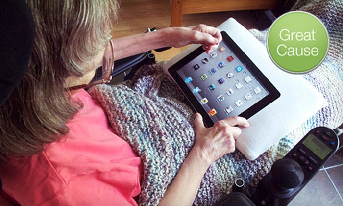 ALS Association – DC/MD/VA Chapter - 4: If 25 People Donate $10, Then the ALS Association – DC/MD/VA Chapter Can Provide an iPad for a Person with ALS