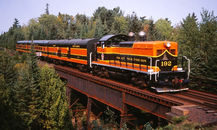 North Shore Scenic Railroad - Duluth: Lester River Tour for Two or Four at North Shore Scenic Railroad (Up to 55% Off). Four Options Available.
