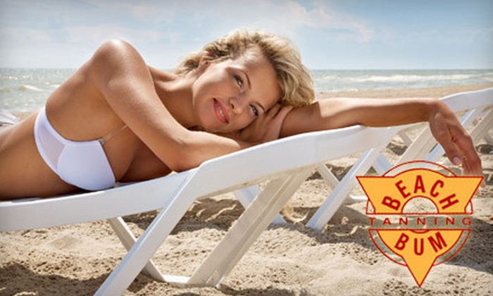Beach Bum Tanning - Multiple Locations: One or Three Airbrush Tans at Beach Bum Tanning (Up to 67% Off)