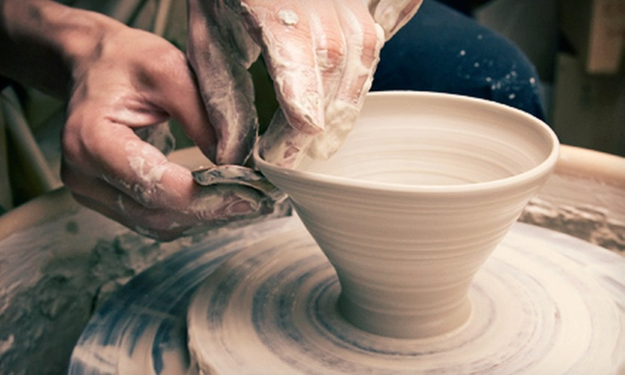 Dahl Arts Ceramic Studio - Kenmore: One-Hour Pottery-Wheel Ceramics Class for One or Two at Dahl Arts Ceramic Studio in Kenmore (51% Off)