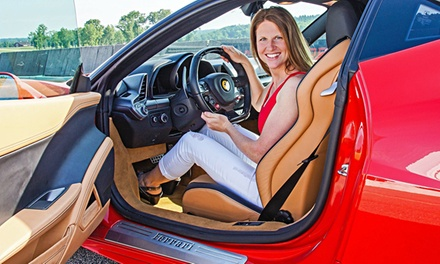 Exotic-Car Driving Experience or Ride-Along from Adventure Supercars (Up to 53% Off). 6 Options Available.