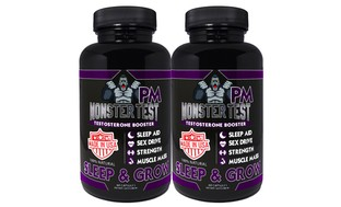Monster Test PM Testosterone Booster and Sleep Support