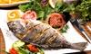 Persisches 3-Gänge-Fisch-Menü