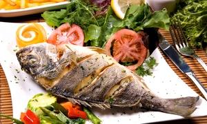 Ristorante La Fenice: Menu pesce con calice o bottiglia di vino al Ristorante la Fenice (sconto fino a 68%)