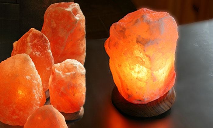 Solay Wellness - IN-STORE PICKUP: Skincare Packages, Himalayan-Salt-Crystal Lamp, or 5 or 10 Salt-Room Sessions at Solay Wellness (Up to 60% Off)