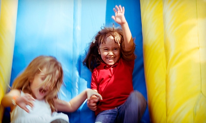 Jump City - Bryant Pattengill East: $20 for Six Pop-N-Play Open-Bounce Sessions at Jump City ($42 Value)