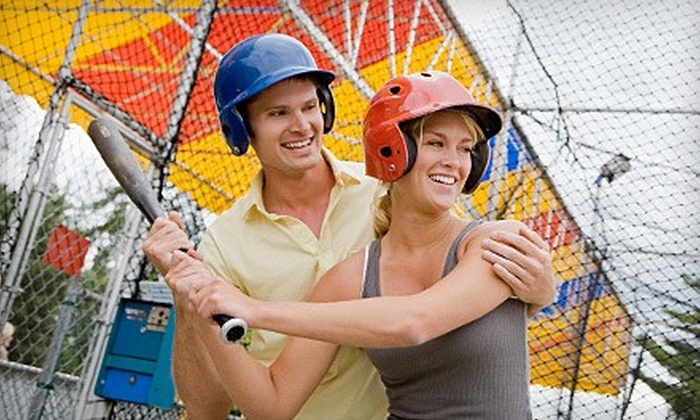 East Beach Batting Cages - East Beach: 10 Tokens or a 30- or 60-Minute Batting-Cage Session at East Beach Batting Cages (Up to 53% Off)