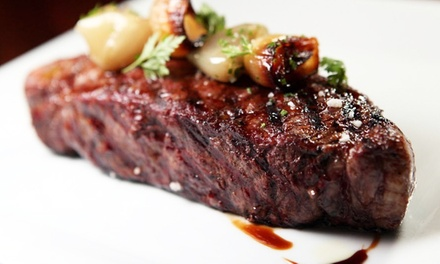 Steak and Seafood at Café la Cave (Up to 50% Off). Two Options Available.