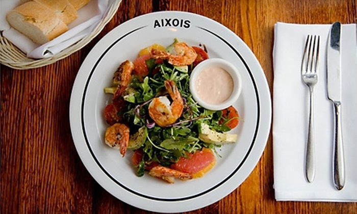 Aixois  - Kansas City: $15 for $30 Worth of French Cuisine and Drinks at Aixois