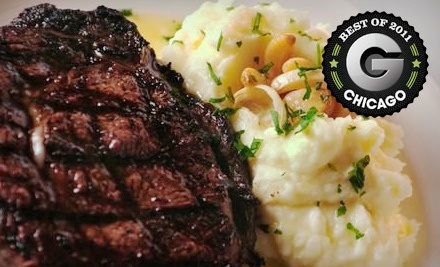 $50 Groupon to St. Charles Place Steak House - St. Charles Place Steak House in St. Charles
