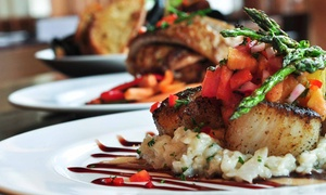 The Magnolia Thomas Restaurant: New Southern Cuisine at The Magnolia Thomas Restaurant (44% Off). Two Options Available.