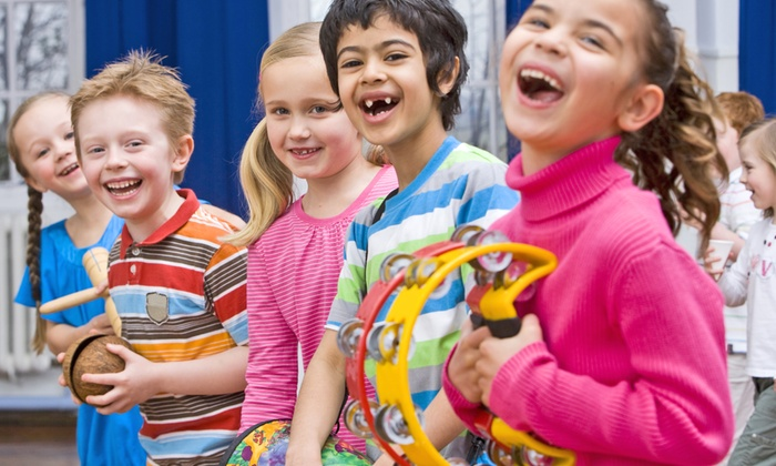 Music Authority School - Music Authority School: Four Weeks of Music Play for Beginners Classes for One or Two Children at Music Authority School (Up to 55% Off)