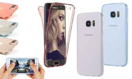 Fully Protected TPU Case for Samsung or iPhone