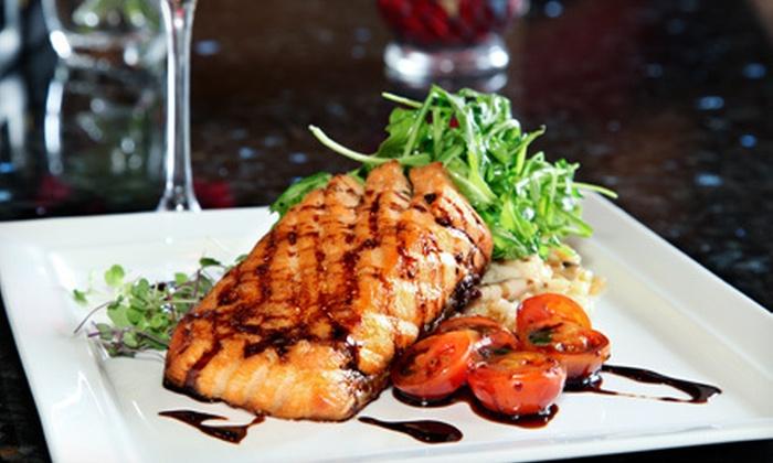 Strata Restaurant & Bar - Northwest Harris: $52 for Romantic Dinner for Two at Strata Restaurant & Bar (Up to $118.80 Value)