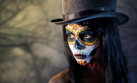 Haunted Hotel Ball's Dia de Los Muertos Closing Party at The Saguaro on Saturday, November 1 (Up to 56% Off)