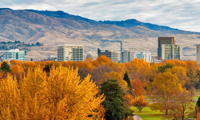 Hotel 43 - Downtown: 1-Night with Optional Valet Parking at 4-Star Hotel 43 in Boise, ID
