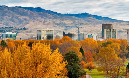 1-Night with Optional Valet Parking at 4-Star Hotel 43 in Boise, ID