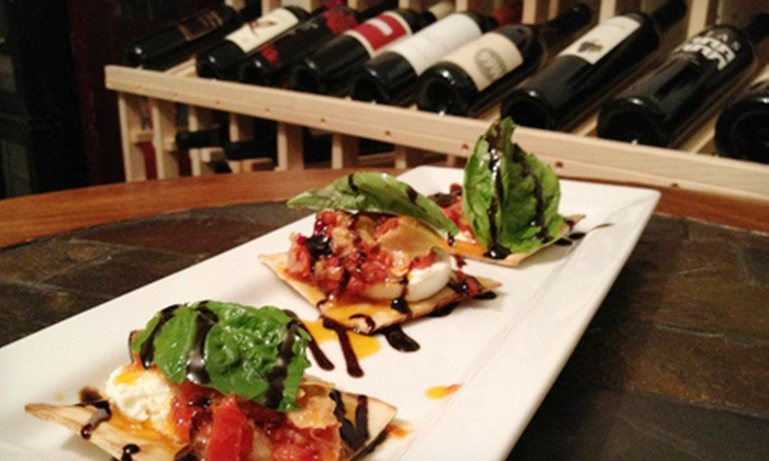 Flights Wine and Coffee - A WineCafe - Morrison: Wine and Crostini Pairing for Two or Four at Flights Wine and Coffee - A WineCafe (Up to Half Off)