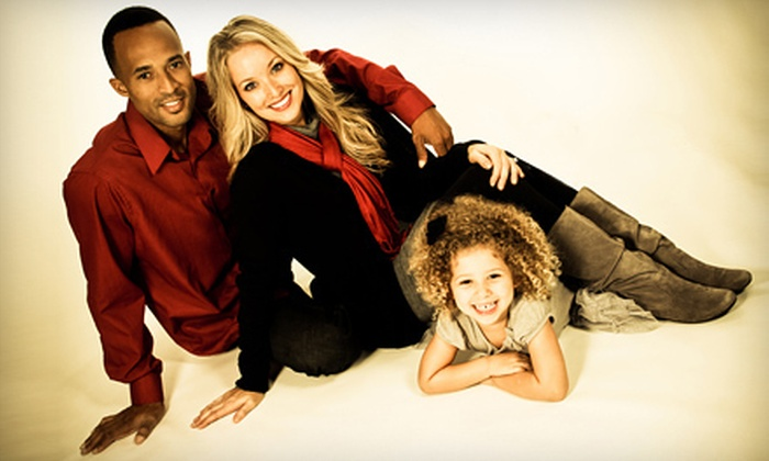 "Sears Portrait Studio - Columbia: $35 for a Photo Shoot and Custom 20""x24"" Wall Portrait at Sears Portrait Studio ($164.98 Value)"