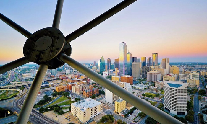 Reunion Tower - Downtown Dallas: $20 for Admission for Two to Reunion Tower ($32 Value)