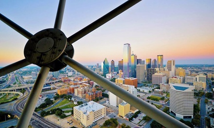 $20 for Admission for Two to Reunion Tower ($32 Value)