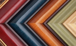 Crystal Framing Gallery: $49 for $200 Worth of Custom Framing at Crystal Framing Gallery