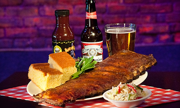 Black-eyed Sally's - Downtown Hartford: $20 for $40 Worth of BBQ and Cajun Food at Black-eyed Sally's