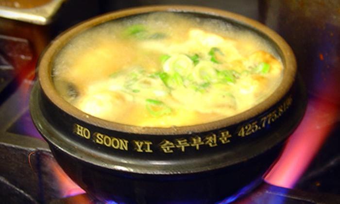 Hosoonyi Korean Restaurant - Fruitland Acres: $15 Worth of Korean Food
