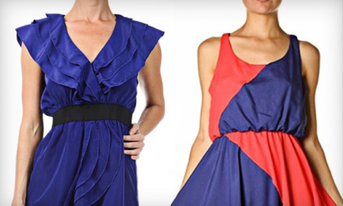 Peridot Boutique - Lower Queen Anne: $15 for $30 Worth of Contemporary Women's Clothing Plus a Complementary Camisole at Peridot Boutique ($42 Value)