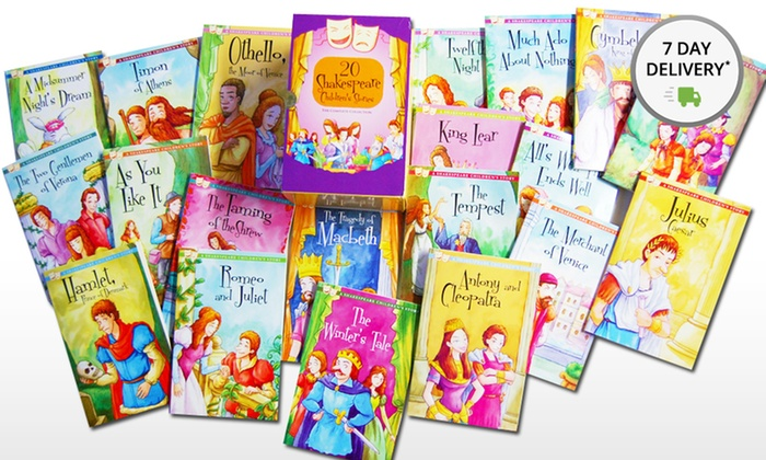 A Shakespeare Children's Story 20-Book Boxed Set: A Shakespeare Children's Story 20-Book Boxed Set