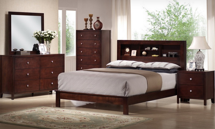Bedroom sets groupon goods for Bedroom set deals