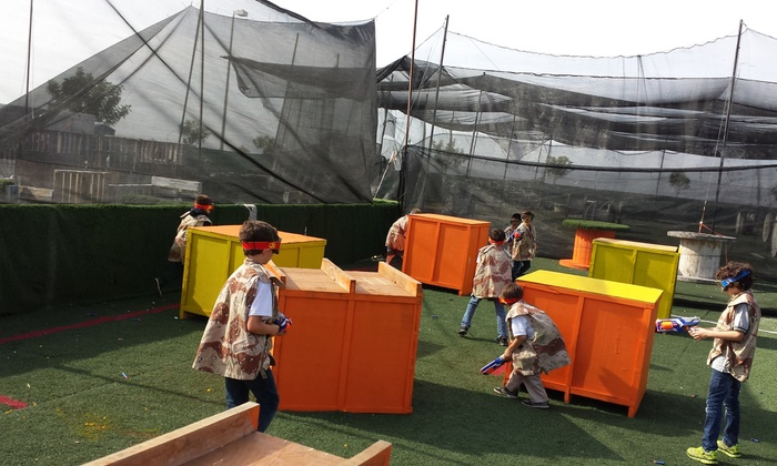 Total Combat Paintball - Otay Ranch Town Center: Nerf War Package  or Party at Total Combat Paintball (Up to 51% Off). Four Options Available.